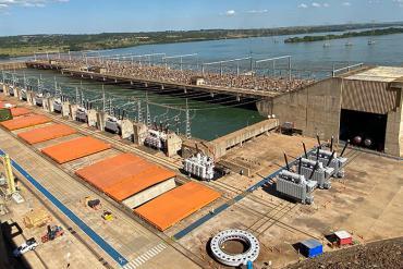Máy biến áp WEG giúp hiện đại hóa Nhà máy Thủy điện Ilha Solteira