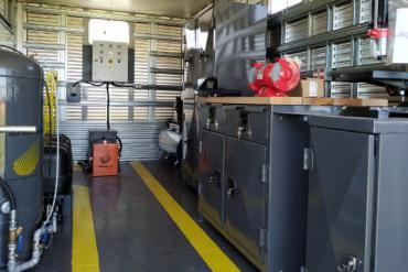 Máy phát điện Weg cung cấp năng lượng điện cho xưởng di động