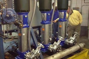 Trang bị thêm hệ thống tăng áp cho với hệ thống bơm tự động của Weg