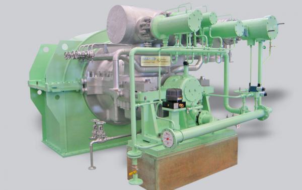 TMC-A and TMCE-A Impulse Turbine
