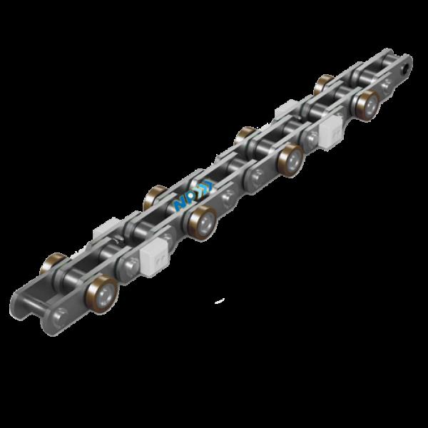 Sharp-top roller chain