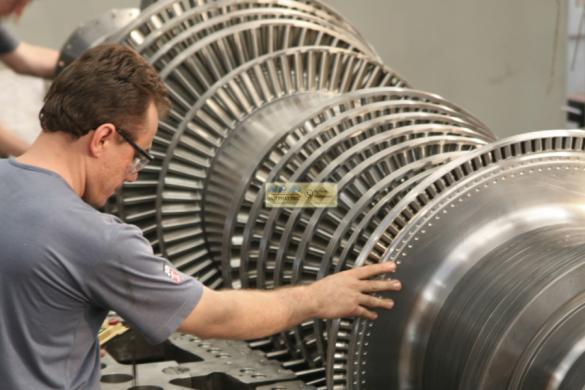 Ứng dụng turbine hơi
